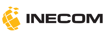 Inecom-Logo-yellow-and-black