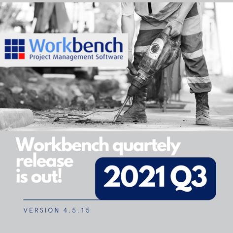 Workbench 2021 Q3 banner